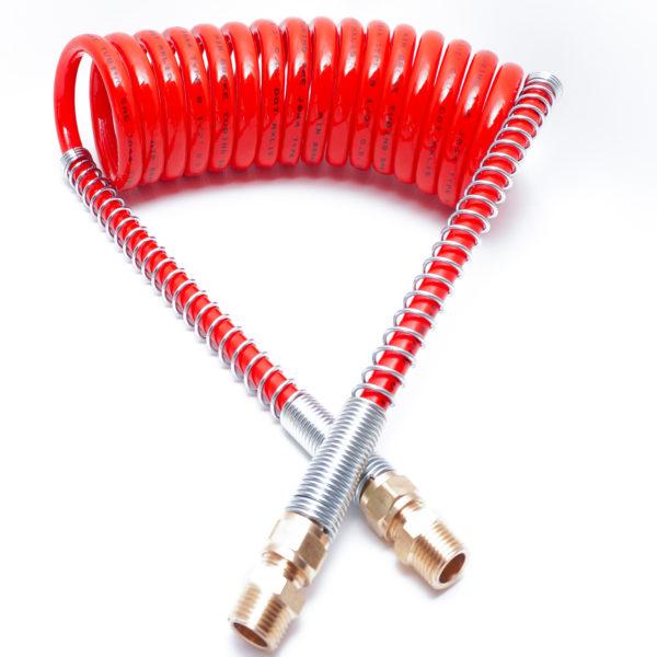15' Single Red Air Hose